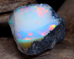 Welo Rough 5.28Ct Natural Ethiopian Play Of Color Rough Opal DT0012