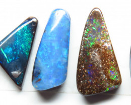 9.30ct Queensland Boulder Opal 5 Stone Parcel