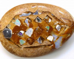 12.90 CTS BOULDER OPAL INLAY POLISHED STONE  ADO-4949