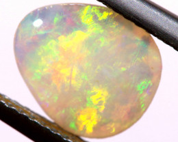 1 CTS  WHITE OPAL POLISHED CUT STONE  TBO-A1177