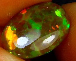 Welo Opal 3.67Ct Natural Ethiopian Play of Color Opal J2114/A44