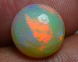 3.410 CRT BRILLIANT ROUND ROLLING FLASH PATTERN WELO OPAL*