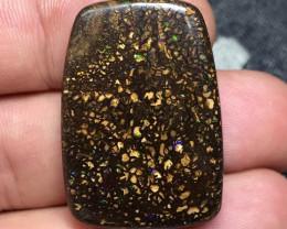 72,82 cts - Koroit boulder opal, cabochon - Koroit, Queensland, Australia