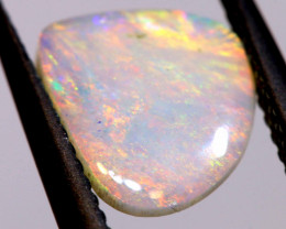 1 CTS  WHITE OPAL POLISHED CUT STONE  TBO-A1213