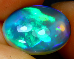 Welo Opal 2.74Ct Natural Ethiopian Play of Color Opal J2308/A44