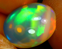 Welo Opal 3.48Ct Natural Ethiopian Play of Color Opal J2315/A44