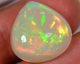 14.5 CT - GREAT PATTERN! DROP SHAPED VERY BRIGHT WELO OPAL CABACHON
