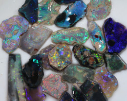 $13 PER STONE 23 STONES 90.50 CTS  OPAL RUBS PARCEL-PRE SHAPED/SAWN[BR7581]