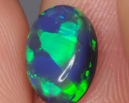 BLACK OPAL STONE FROM LIGHTNING RIDGE