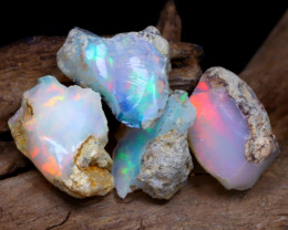 Welo Rough 11.76Ct Natural Ethiopian Play Of Color Rough Opal F2209