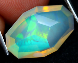 Welo Master Cut 4.02Ct Natural Ethiopian Precision Cut Opal DT0061