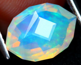 Welo Master Cut 1.67Ct Natural Ethiopian Precision Cut Opal DT0067