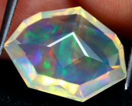 Welo Opal 5.09Ct Master Cut Natural Ethiopian Flash Color Welo Opal DT0072