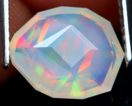 Welo Opal 1.68Ct Master Cut Natural Ethiopian Flash Color Welo Opal DT0075