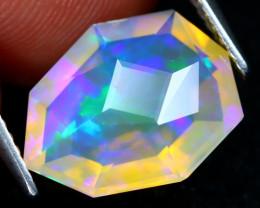 Welo Master Cut 2.76Ct Natural Ethiopian Precision Cut Opal DT0076