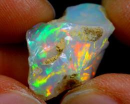 9.51cts Ethiopian Welo Rough Opal / WR2512