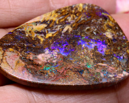 36.05 CTS BOULDER OPAL WOOD REPLACEMENT NC-7557