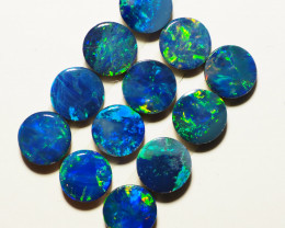 3.46CT BRIGHT CALIBRATED  OPAL DOUBLETS FROM LIGHTNING RIDGE AL544
