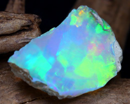 Welo Rough 5.89Ct Natural Ethiopian Play Of Color Rough Opal DT0080