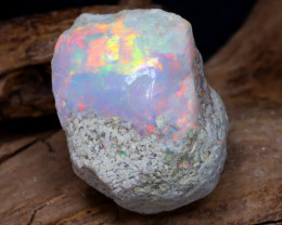 Welo Rough 10.15Ct Natural Ethiopian Play Of Color Rough Opal DT0089
