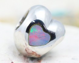 Fire Opal Bracelet Charm - CH320