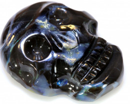 24 CTS BLACK  OPAL CARVING   LO-5943