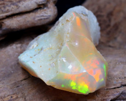 Welo Rough 9.78Ct Natural Ethiopian Play Of Color Rough Opal DT0159