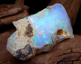 Welo Rough 10.97Ct Natural Ethiopian Play Of Color Rough Opal DT0164