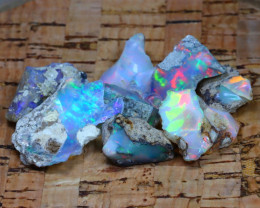 Welo Rough 43.53Ct Natural Ethiopian Play Of Color Rough Opal D2701