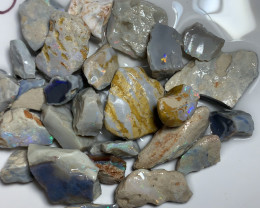 420 CTS POTENTIAL ROUGH OPALS  #718