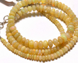 49 CTS   ETHIOPIAN OPAL BEADS STRAND   FOB-2326