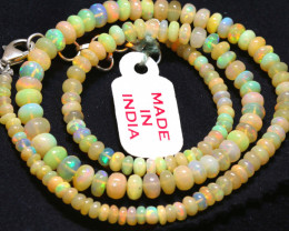 48 CTS   ETHIOPIAN OPAL BEADS STRAND   FOB-2327