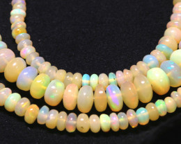 48 CTS   ETHIOPIAN OPAL BEADS STRAND   FOB-2330