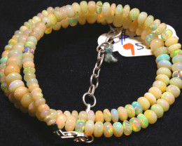 52 CTS   ETHIOPIAN OPAL BEADS STRAND   FOB-2332