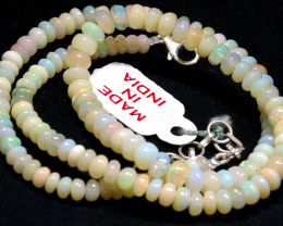 57 CTS   ETHIOPIAN OPAL BEADS STRAND   FOB-2334