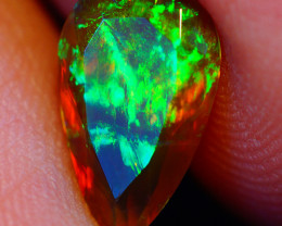 1.11 CT Extra Fine Quality Faceted Cut Ethiopian Opal -DF593