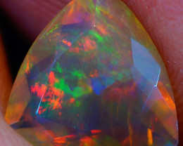 1.08 CT Extra Fine Quality Faceted Cut Ethiopian Opal -DF618