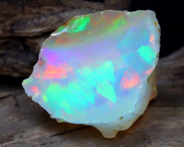 Welo Rough 7.03Ct Natural Ethiopian Play Of Color Rough Opal DT0167