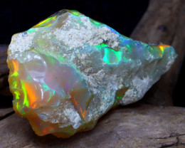 Welo Rough 16.57Ct Natural Ethiopian Play Of Color Rough Opal DT0182