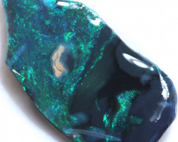 11.10 CTS BLACK OPAL RUBS PRE SHAPED/SAWN  [BR7607]