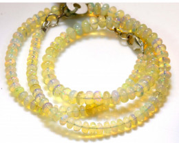 53 CTS   ETHIOPIAN OPAL BEADS STRAND   FOB- 2336