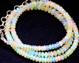 48 CTS   ETHIOPIAN OPAL BEADS STRAND   FOB- 2337