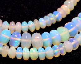 46 CTS   ETHIOPIAN OPAL BEADS STRAND   FOB- 2339