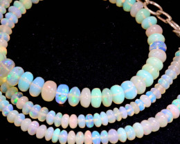 44 CTS   ETHIOPIAN OPAL BEADS STRAND   FOB- 2340