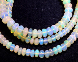 47 CTS   ETHIOPIAN OPAL BEADS STRAND   FOB-2341