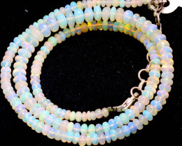 43 CTS   ETHIOPIAN OPAL BEADS STRAND   FOB- 2344