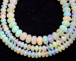 46 CTS   ETHIOPIAN OPAL BEADS STRAND   FOB- 2345