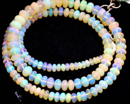 46 CTS   ETHIOPIAN OPAL BEADS STRAND   FOB- 2346