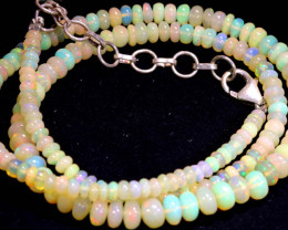 39 CTS   ETHIOPIAN OPAL BEADS STRAND   FOB- 2348