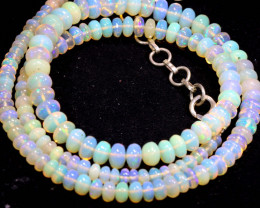 50 CTS   ETHIOPIAN OPAL BEADS STRAND   FOB- 2349